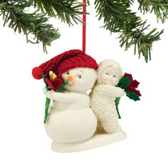Snowbabies Department 56 Ornaments You're The Best Gift Ornament 2.76 In >> To view further, visit now : Christmas Decorations