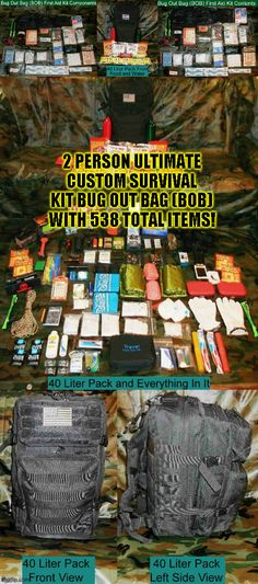 Everything you need to survive for 3 to 5 days and all you have to add is your clothes! This kit has a 15 piece camp cook set, 13 piece rechargeable flashlight kit with batteries, an emergency ra(click to continue)#camping #tent #hiking #tactical #outdoors #campingfood #campinghacks #hikinghacks #sleepingbag #campingmusthaves #hikingandcamping #campinggear #campingtents #campingglamping #campingsurvival #bigtents #campingrecipes #cheapmattresses #tactical #offthegrid Camping Must Haves, Camping List, Camping Glamping, Camping Survival, Outdoor Survival, Outdoor Camping, Hiking Food, Hiking Tips, Camping And Hiking