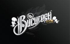 """""""Bucuresti"""" type lettering by Andrei Robu. (www.robu.co)"""