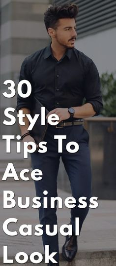 Business casual is basically dress code that allows men to maintain professional image while dressing low key. This blog mentions few tips on men should follow while styling for office.