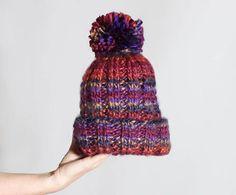 Sunset Beanie [knitting pattern] |Gina Michele