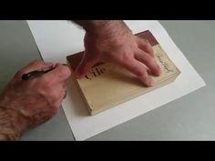 El Yapımı Kitap Ciltleme, Kapak nasıl yapılır?