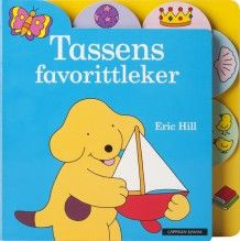 Tassens favorittleker av Eric Hill (Innbundet) Children's Picture Books, Character Names, Winnie The Pooh, Disney Characters, Fictional Characters, Author, Dogs, Baby, Doggies
