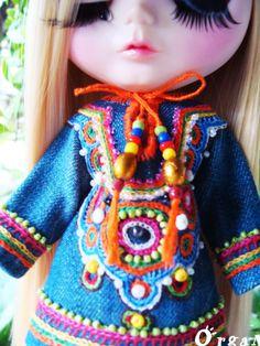 OOAK Jeans little India Dress
