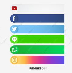 Social Media tags for text Vector and PNG Social Media Buttons, Social Media Banner, Social Icons, Social Media Logos, Social Png, Instagram Logo, Icon Design, Web Design, Resume Design
