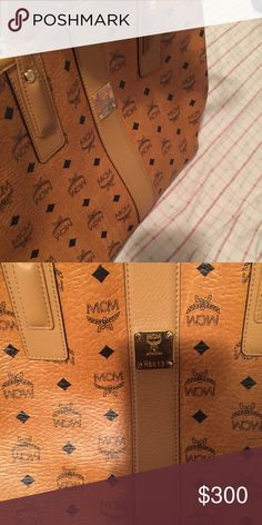 Mcm tote medium Brand new Mcm tote without tag MCM Bags Totes