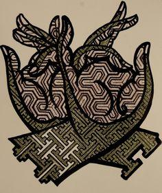 'Sacred Mudra' Tattoo design SURYA INK