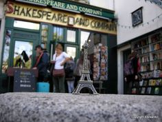 Shakespeare and Company, Paris. My favourite bookstore ever!