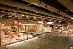 The Monumental Site of Plaça del Rei - Barcelona: The remains allow the visitor to take a close look at the everyday life of Barcelona's first Christian community. Barcelona Tourism, The Visitors, Old City, Romans, Old Things, Community, Christian, Life, Museums