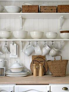 sweet open shelves