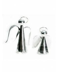 Anjo Cone P com Cristal - #Swarovski #cristais #aluminio #decoracao #anjo
