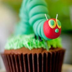 marzipan caterpillar