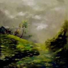 """Saatchi Art Artist Atalay Mansuroğlu; Painting, """"Endziel"""" #art"""