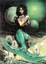 Image Search Results for african american mermaids Black Girl Art, Black Women Art, Black Girl Magic, Art Girl, Black Art, Black Mermaid, Mermaid Art, Mermaid Images, Mona Lisa