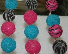 Monster High Themed Cake Pops