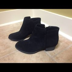 Jessica Simpson flat booties So cute and comfortable! Only worn once! Jessica Simpson black flat booties! Like new! Jessica Simpson Shoes Ankle Boots & Booties
