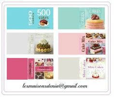 Printable mini cookbooks (link to high resolution pdf file)