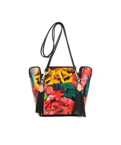 Floral Artwork Bag - im loving this bag!!!