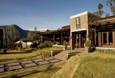 Java Banana Bromo (Java, Indonesia); from stunning modern, tropical architecture to well-crafted interior made of the best wood, with eco-friendly, water-based finishing. A tropical lodge with the best panoramic view of Mount Tengger.