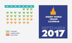 Crowd calendar for September.