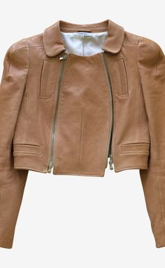 Carven Tan Jacket | VAUNTE
