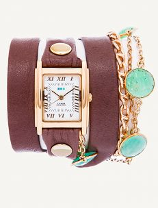 Chrysoprase Stones By The Yard Wrap Watch