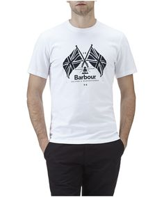 60c8d5410e49 Men s Barbour Cross Flags Tee Shirt NOW £19.57. Outdoor and Country · Our Top  Summer Sale Picks