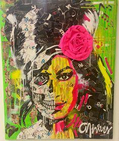 """Ontem me deparei com lindas colagens feitas pelo artista plástico Anderson Thieves expostas no shopping Frei Caneca em SP na mostra """"EMquadrados"""". Eu não conhecia o trabalho dele e achei super original! Um artista paranaense autodidata que desenvolveu ainda mais suas habilidades  se formando em Artes Plásticas. Faz quadros com colagens utilizando uma média de mais de 5000 pedacinhos de papel em cada obra! As gravuras são coloridas vibrantes e expressivas. Essa da Amy Winehouse foi uma das…"""