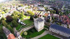 Burg , Bad Bentheim , Jonny Cornflakes, Drone, DJI F550 + Gopro
