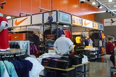 Nike Factory Store Upgrades   Turner Construction Company