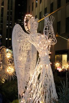 NYC - Rockefeller Center - Channel Gardens during the Holidays by wallyg, via Flickr