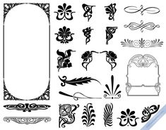 Art Nouveau Design Elements