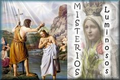 Imágenes religiosas de Galilea: Misterios Luminosos