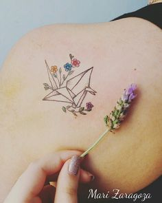 Tsuru tattoo