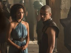 Grey Worm & Missandei Kiss On 'Game Of Thrones,' So Is This The Start Of A Beautiful Romance?