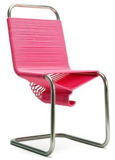 Clothes Hangers: Simple, funky and elegant, this chair is made from ...