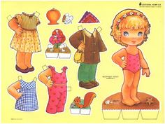 Bonecas de papel para vestir
