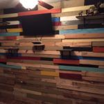 Got the pallets from builders at construction side near our home. Simply done a little bit of sanding and wood …