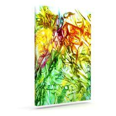 "Rosie Brown ""Kaleidoscope"" Outdoor Canvas Wall Art"
