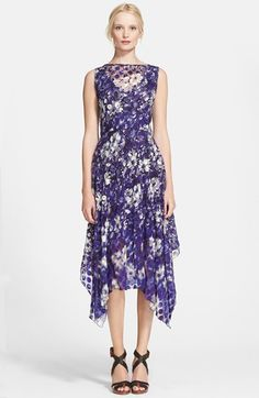Jean Paul Gaultier Floral Print Polka Dot Tulle Dress available at #Nordstrom