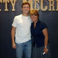 Scotty and his momma. Soon to be my mother in law