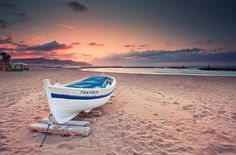 Sitges Beach (Spain) by Eric Rousset