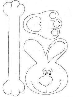 Felt Crafts, Diy And Crafts, Crafts For Kids, Rabbit Crafts, Basket Crafts, Art Activities For Kids, Easter Baskets, Easter Bunny, Creations