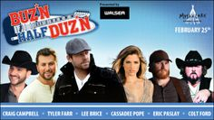 Were any of you lucky enough to win tickets to the BUZ*N Half DUZ*N brought to you by our partners at BUZ*N 102.9? Click here for your last chance to enter to win! #buznhalfduzn #countrymusic #concerts
