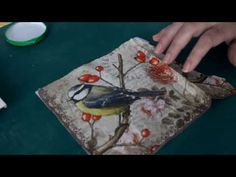 DECOUPAGE CON RELIEVE  Como hacer Decoupage con relieve muy facil - YouTube
