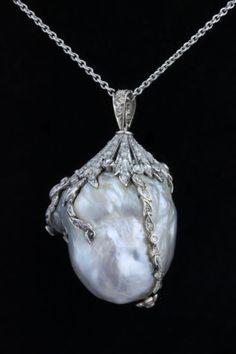 victorian baroque diamonds pearl - Cerca con Google