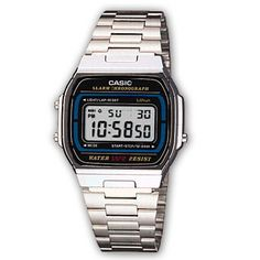 f8a46e364b7 This Casio Unisex Classic Digital Bracelet Watch is fitted with a stainless  steel bracelet and a digital dial. Features include a chronograph