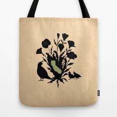 California - State Papercut Print Tote Bag by Bean Cutter - $22.00