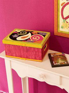 Porta-DVD com Carton Mousse