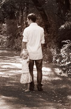 Daddy and Audrey